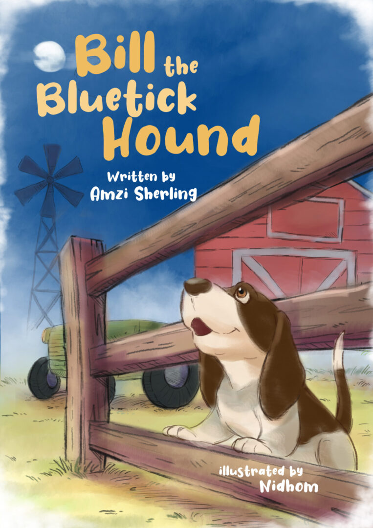 Bill the Bluetick Hound cover by Nidhom